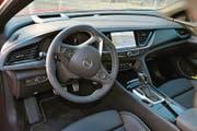 In diesem Cockpit sitzt es sich bequem. (Bild: Bruno Knellwolf)