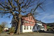 Das Restaurant Landhaus in Bichelsee. (Olaf Kühne)