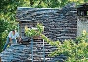 Keine Registrierung mehr nötig für Handwerker im Tessin. (Bild: Samuel Golay/Keystone (Comologno, 10. Juni 2016))