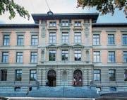Das St.-Leonhard-Schulhaus ist fertig saniert. Morgen Samstag wird es feierlich eröffnet. (Bild: Jil Lohse)