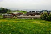 Die Duschanlagen der Kaserne Neuchlen wurden vorsorglich gesperrt. (Bild: PD)