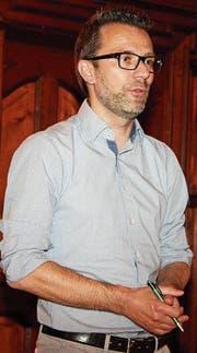 Simon Lumpert wurde als Präsident der Altstadtvereinigung Wil bestätigt. (Bild: Christof Lampart)