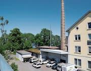 Auf dem früheren Kopp-Areal ist heute die Reinigungsfirma Pollux eingemietet. Bald sollen dort Wohnungen entstehen. (Bild: Jolanda Riedener)