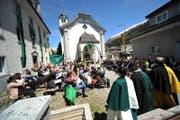 Die Talgemeinde der Korporation Ursern findet am Sonntag, 27. Mai, 13.15 Uhr, im Ring vor der Pfarrkirche in Hospental statt. (Bild: Urs Hanhart (Hospental, 21. Mai 2017))