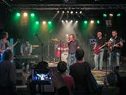 Für die seit zwei Jahren bestehende Rockband The Judges war der Auftritt einer der bisherigen Höhepunkte als Musiker. (Bild: Julia Kaufmann)