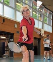 Die heute 57-jährige Lene Schelbert aus Flüelen holte an nationalen Meisterschaften bisher 33 Medaillen. (Bild: Urs Hanhart (Stansstad, 4. Mai 2017))