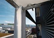 Bei der Überbauung Eschenring 3 in Zug wurden Baumängel festgestellt. (Bild: Stefan Kaiser (Zuger Zeitung) (Zuger Zeitung))