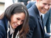 Absage wenige Tage vor der Hochzeit: Prinz Harrys Verlobte Meghan Markle muss auf die Teilnahme ihres Vaters an der Trauung verzichten. (Bild: KEYSTONE/AP/RUI VIEIRA)