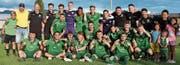 Die Nachwuchskicker des FC St. Gallen gewannen zum zweiten Mal und erstmals seit 18 Jahren das internationale Altstätter U19-Turnier. (Bilder: Yves Solenthaler)