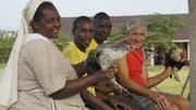 Richard Balmer beteiligte sich massgebend am Aufbau mehrerer Landwirtschaftsbetriebe und Schulen in Tansania. Seine Frau Vreny kümmerte sich als Familienhelferin um Mütter und ihre Kinder. (Bild: PD)