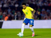 Neymar soll mit Brasilien den sechsten WM-Titel holen (Bild: KEYSTONE/AP/MATILDE CAMPODONICO)