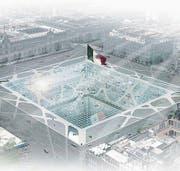 Durch eine Glasplatte wäre die Sicht in die Untergrundstadt möglich. (Bild: PD)