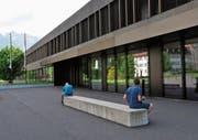 Ein Thema bei der Kostenteilung: die Kantonsschule Obwalden. (Bild: Philipp Unterschütz (Sarnen, 8. Mai 2018))