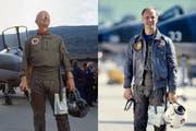 Der einzige Schweizer, der je im Weltall war: Claude Nicollier im Jahr 2009 (links) und 1989. (Bild: Gaetan Bally, Karl-Heinz Hug/Keystone)