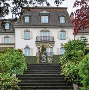 Ein schönes Haus an traumhafter Lage: die Villa Krämerstein. (Bild: Nadia Schärli (Horw, 1. Mai 2017))