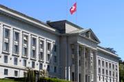 Das Bundesgericht in Lausanne. (Bild: Laurent Gilliéron / Keystone (Lausanne, 13. April 2017))