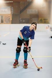 Captain Jasmin Schuler strebt mit dem RHC Uri den Titel an. (Bild: Florian Arnold (Seedorf, 8. Mai 2018))