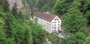 Das Alte Bad Pfäfers ist das einzige noch bestehende Barockbad der Schweiz.