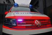 Ambulanz am Kantonsspital Nidwalden in Stans. (Bild: PD / Sven von Holzen)