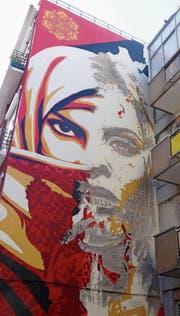 Die Stadt als Freiluftgalerie: urbane Kunst in Lissabon. (Bild: Angela Allemann)
