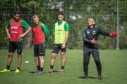 Wird gegen Lugano erstmals als Cheftrainer der Espen an der Seitenlinie stehen: Boro Kuzmanovic. (Bild: Michel Canonica)