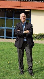 Der Schweizer Astronaut und Astrophysiker Claude Nicollier hielt in der Wartegghalle in Goldach einen Vortrag. (Bild: Rossella Blattmann)