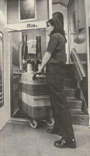 Die neuen Högg-Lifte dienen in den IC-Zügen auch den Mini-Bars als Aufzug. (Bild: PD)