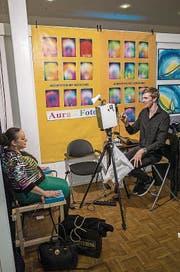 Beim Fotografen: Welche Farbe hat deine Aura? (Bild: Benjamin Manser (Zürich, 3. Mai 2018))