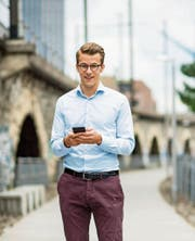 Andri Silberschmidt: «Das Gesetz reguliert das Internet in einer stupiden Art.» (Bild: Thomas Lüthi/HEG (Zürich, 6. Juni 2017))