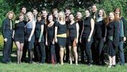 Die jungen Sängerinnen und Sänger werden das Publikum in Berneck mit einem rhythmischen Melodienstrauss mitreissen. (Bild: pd)