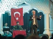Der türkische Starprediger Nihat Hatipoglu spricht im Thurpark Wattwil über die Kraft des Glaubens.