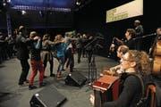 Auch wenn es dieses Jahr keine Festival-Arena mehr gibt, hoffen die Initianten auf gute Stimmung. (Bild: Urs Hanhart (Altdorf 17. Mai 2014))