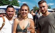 Alex Secli aus Felben-Welhausen, Yamina Hintze und Luca Rocco, beide aus Frauenfeld.