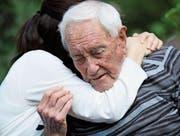 Abschied für immer: Der 104-jährige Australier David Goodall nahm sich mit Hilfe von Exit International in Liestal das Leben. (Bild: Getty)