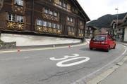 Tempo-30-Zonen geben immer wieder zu reden; nicht nur in Bürglen (Bild), sondern auch in Altdorf. (Bild: (Bild: Florian Arnold, 9. April 2018))