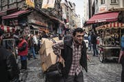 Marktszene im Istanbuler Eminonu-Quartier (Bild: AFP)