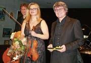 Das Swiss Piano Trio gastierte schon in mehr als vierzig Ländern. (Bild: PD)