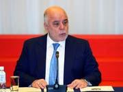 Iraks Ministerpräsident Haidar al-Abadi droht bei der Parlamentswahl im Irak eine Niederlage. (Bild: KEYSTONE/AP/SHIZUO KAMBAYASHI)