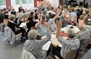 Der Rheintaler Bach-Chor führte am letzten Wochenende seine zweite Hauptversammlung durch. Die Mitglieder freuen sich schon jetzt auf die geplanten Aktivitäten im 2019 und 2020. (Bild: pd)
