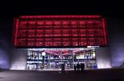 Die Raiffeisenbank Zug wird im Frühling 2019 Räume im zweiten Stock des Bahnhofs beziehen (ganze Etage über dem SBB-Schriftzug). (Bild: Werner Schelbert / Zuger Zeitung)