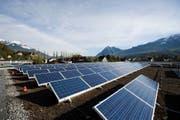 Solaranlage auf dem Schulhaus der Kantonsschule in Sarnen. (Bild: PD)