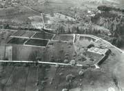In den Gründungsjahren während des Ersten Weltkrieges lag die ARA Hofen in unbebautem Gebiet. (Bild: PD)