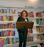 Claudia Rüegsegger liest aus Werken verschiedener Autoren. (Bild: PD)