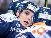 Ab kommender Saison im Dress des HC Lugano: Stürmer Reto Suri (Bild: KEYSTONE/ALEXANDRA WEY)