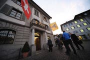 Im Rathaus Altdorf fallen Finanzentscheide. (Bild: Urs Hanhart, Januar 2016)