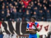 Dimitri Oberlin wird weiter im Trikot des FC Basel auflaufen (Bild: KEYSTONE/ENNIO LEANZA)