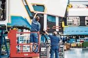 Stadler Rail ist ein Schwergewicht der Thurgauer Industrie. (Bild: Thi My Lien Nguyen (Bussnang, 20. September 2017)