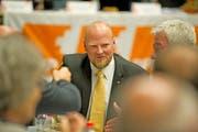 Christian Ineichen ist seit einem Jahr Präsident der CVP des Kantons Luzern. Bild: Corinne Glanzmann (Hildisrieden, 27. April 2017)