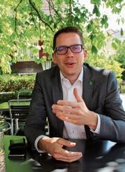 Noch-Kantonsratspräsident Ivan Louis könnte sich je nach Konstellationen später eine Kandidatur als Nationalrat vorstellen. (Bild: Martin Knoepfel)