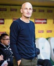 Peter Zeidler hat als Trainer des FC Sion einen bleibenden Eindruck hinterlassen. (Bild: Michel Canonica (St.Gallen, 16. Dezember 2016))